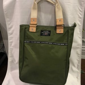Ralph Lauren Polo Jeans Co. Army green bag